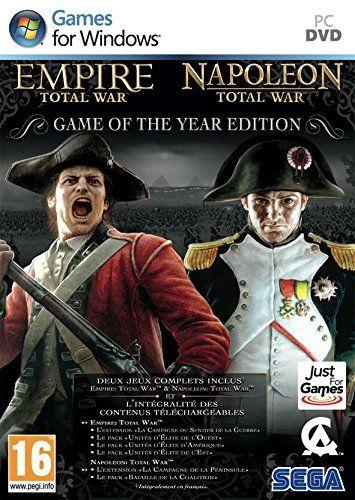 awesome Total War: Empire + Total War: Napoleon - Édition Jeu De L'Année  Mas info: http://www.comprargangas.com/producto/total-war-empire-total-war-napoleon-edition-jeu-de-lannee-importacion-francesa/