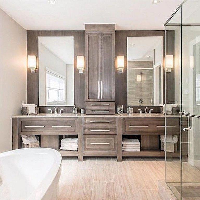 Master Bathroom Vs Ensuite #Bathroomvanityideas