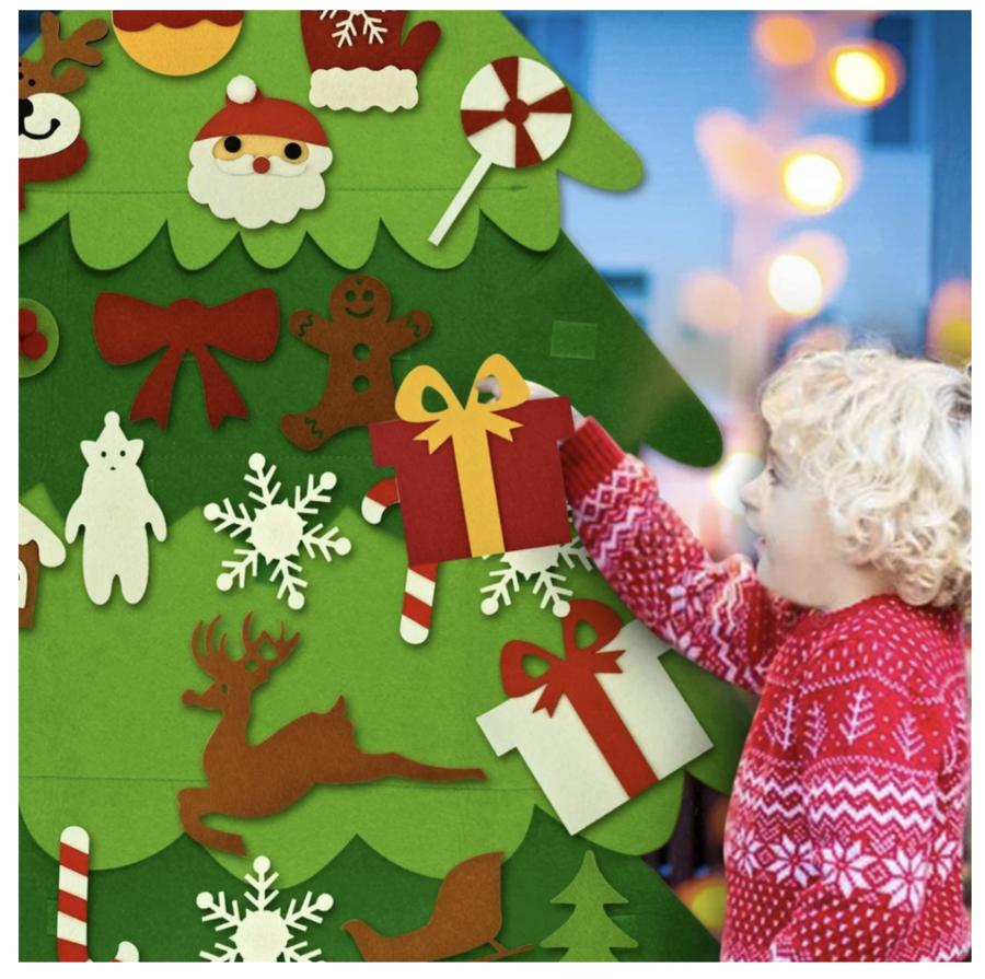 Diy Felt Tree Spare Ornaments Bundle Coolcoolly In 2020 Diy Felt Christmas Tree Felt Christmas Tree Felt Christmas