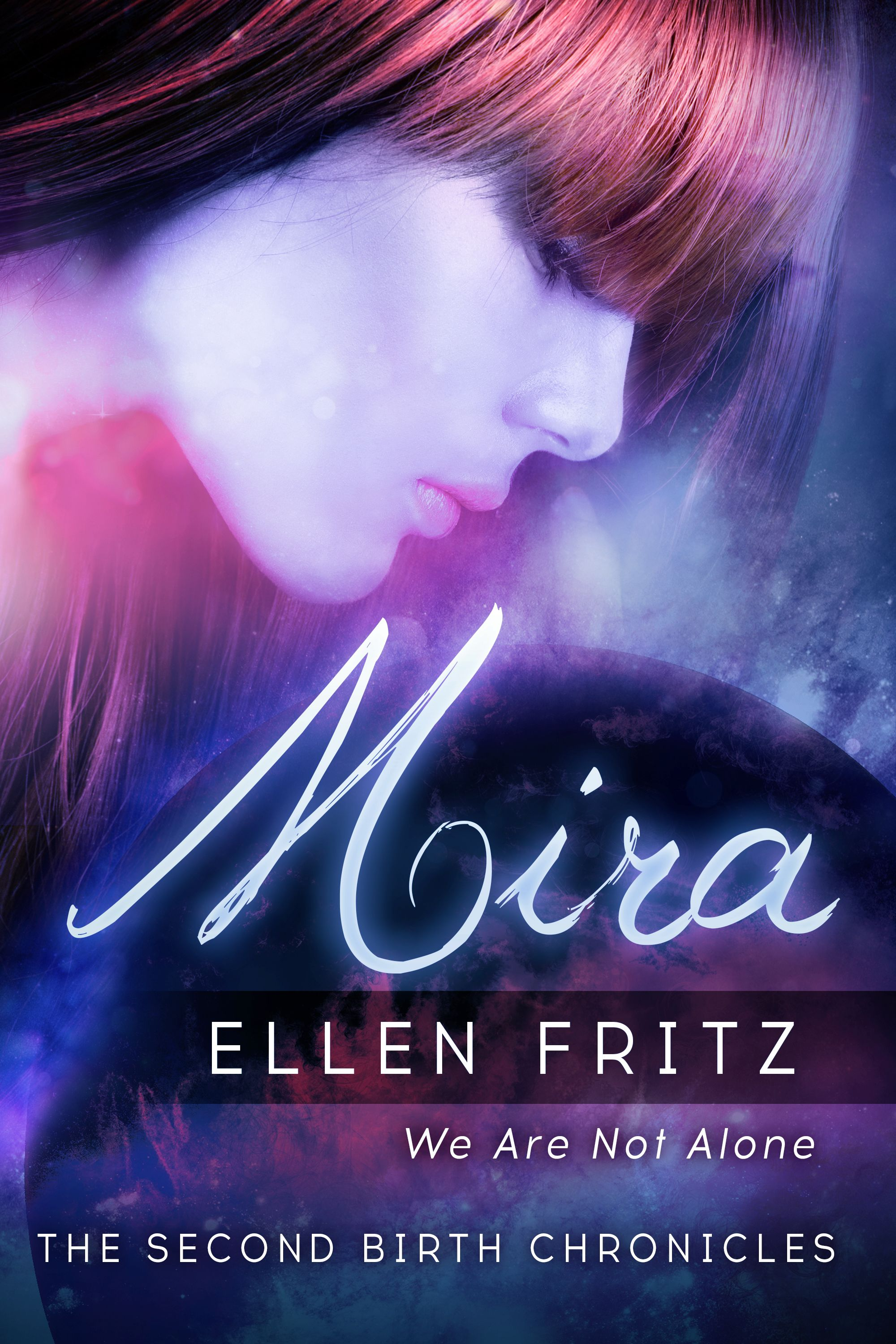A young woman becoming an alien, learning to live with different
