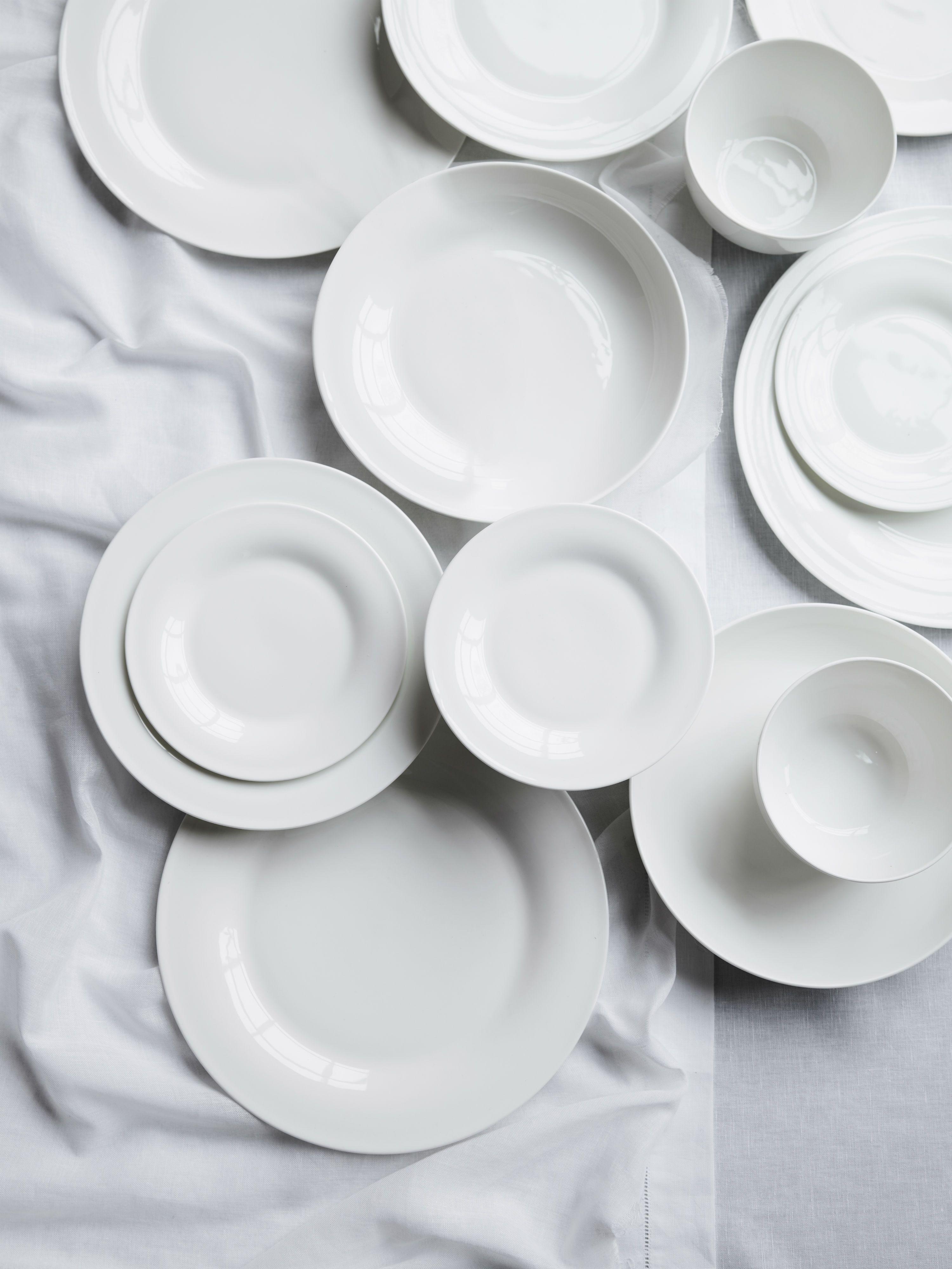 Symons Bone China 12 Piece Set Tableware The White Company Tableware Stylish Kitchen Accessories Bone China