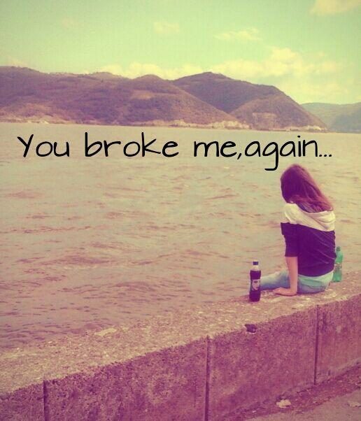 Image Of Girl With Broken Heart