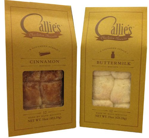 Callie's Charleston Biscuits are made completely by hand and have been featured in Food & Wine and Oprah magazine. Using no machinery whatsoever and with only the finest ingredients, these tender and buttery biscuits are keeping the tradition of Southern biscuit making alive.