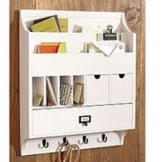 Mail And Key Organiser For By The Front Door Entryway Mail Organizer Home Organization Mail Organizer