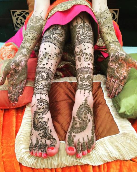 Pin by Beenish Khalid on TAG BRIDAL MAKEUP & MEHNDI