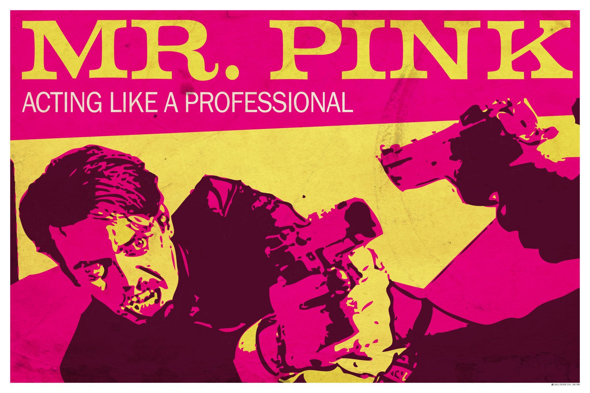 Reservoir Dogs Poster, Mr. Pink Wall Art | Products | Pinterest ...