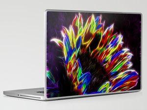 Rainbow Sun Laptop & iPad Skin by F Photography And Digital Art - $30.00