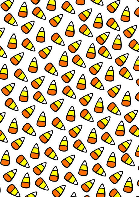 Halloween Scrapbook Paper Candy Corn Halloween Scrapbook Candy Corn Paper Candy