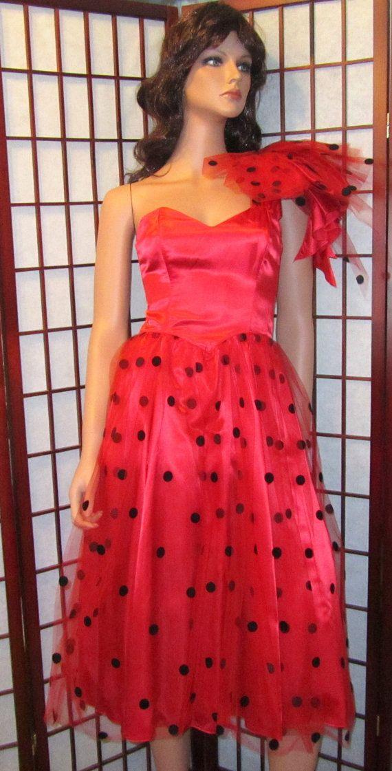 HALF OFF SALE Vintage 80s Gunne Sax Jessica McClintock Dress Prom ...
