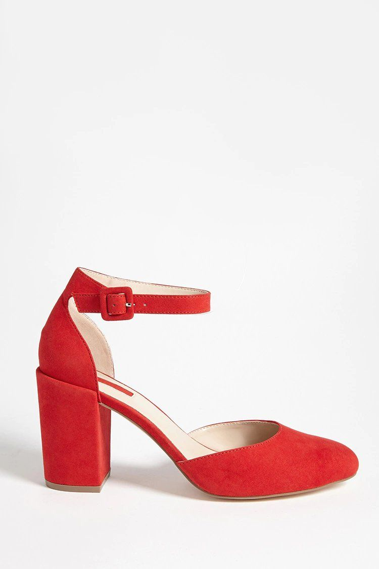 Product Name:Faux Suede Ankle-Strap
