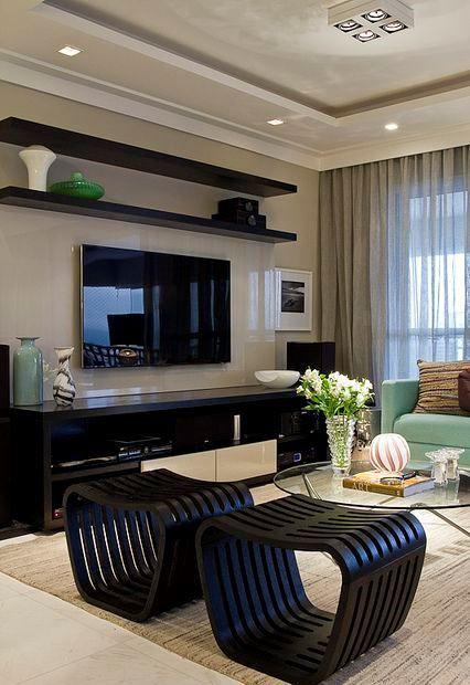 Imagem 9 Exquisite Home Design Living Room Decor