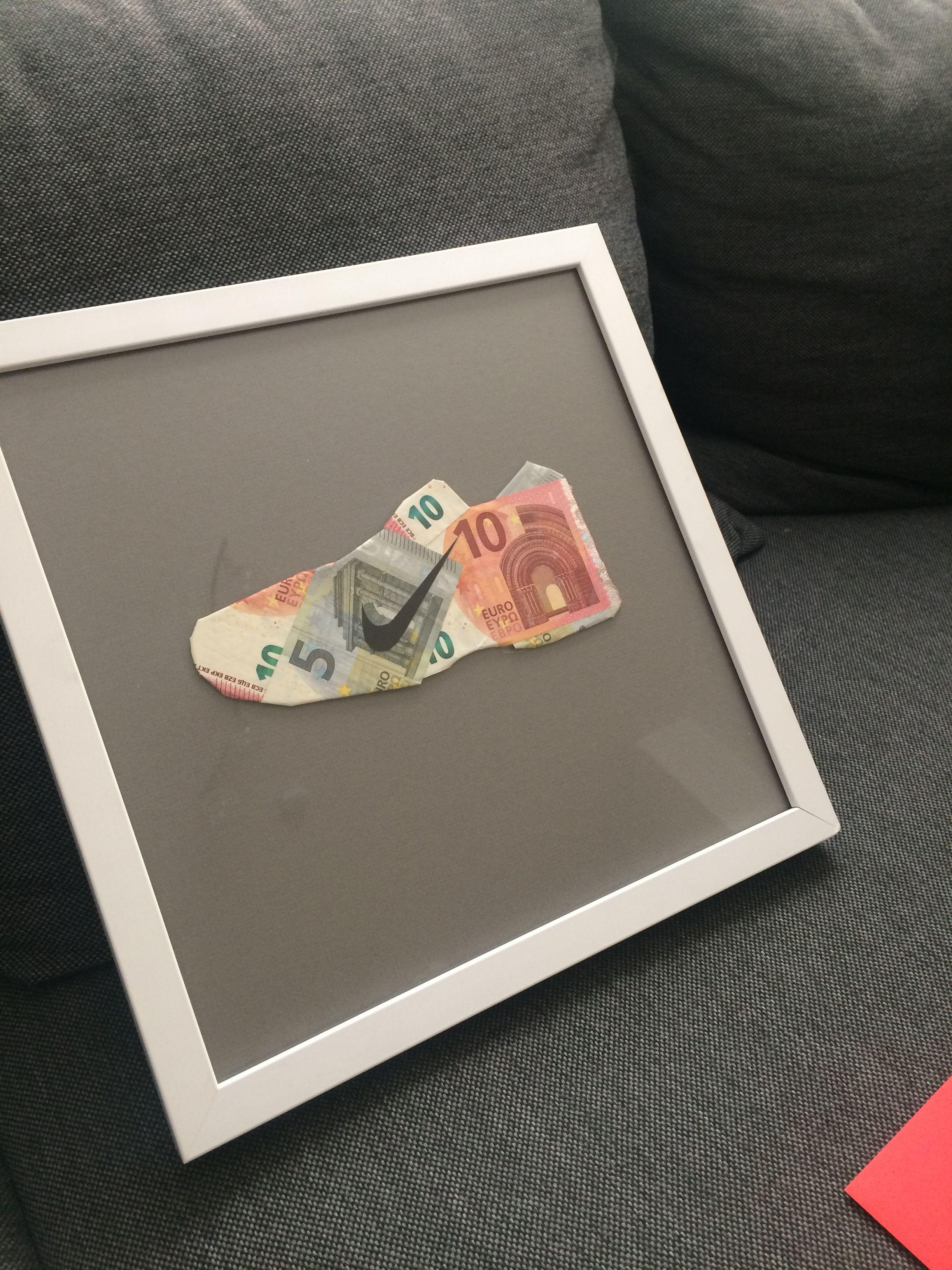 Geldgeschenk Münzen Verpacken