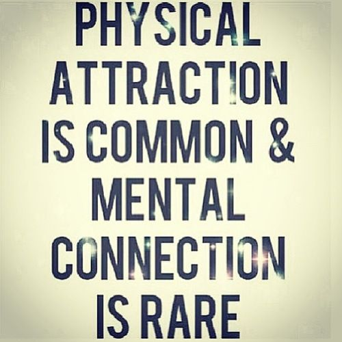 Love Attraction Quotes Classy Mental Connectionits Kinda Scary When It Happens  Quotes