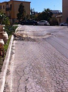 Manto stradale via Brancati distrutto dalla CMC, interrogazione del consigliere Failla