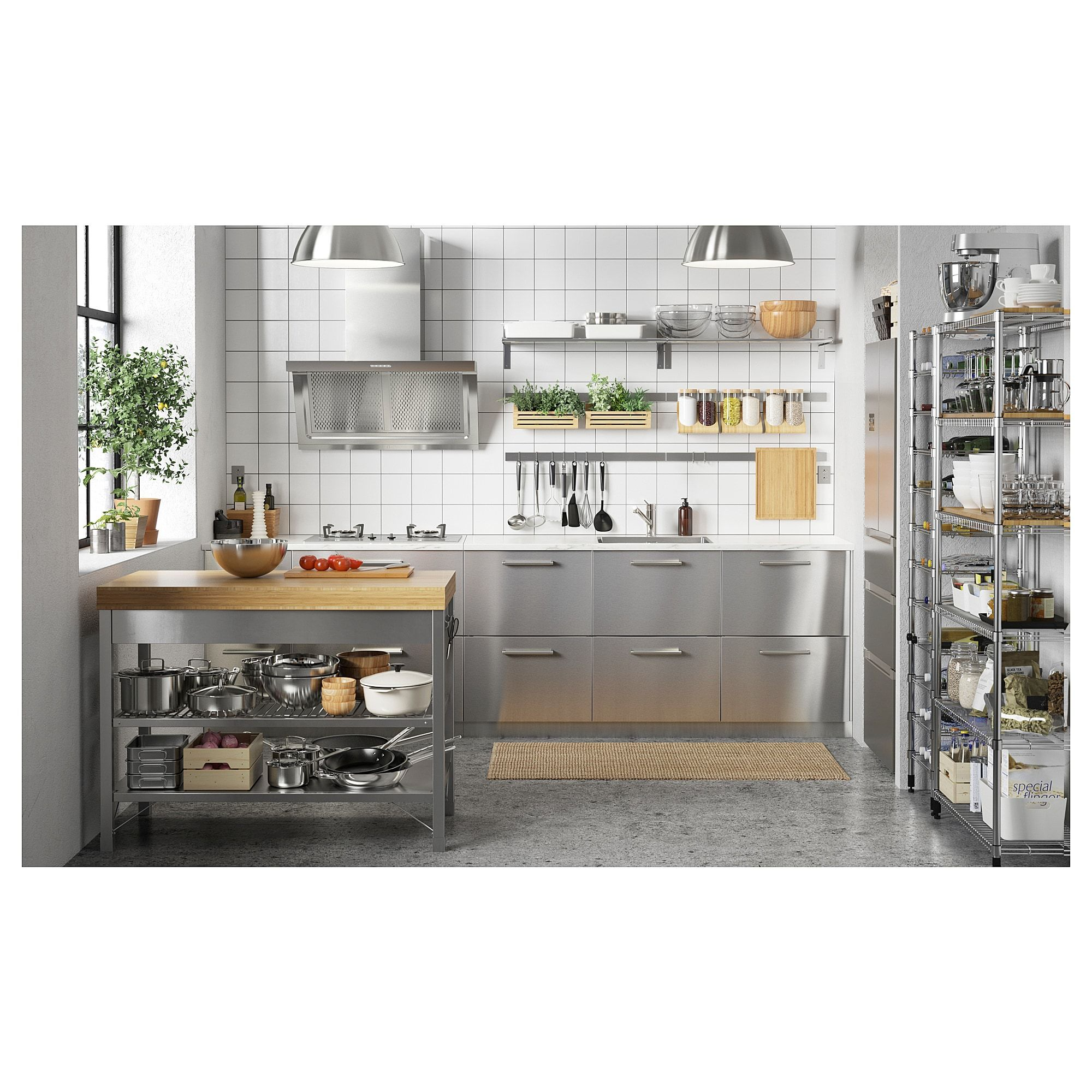 Furniture Home Furnishings Find Your Inspiration Ikea Kitchen Design Ikea Kitchen Storage Commercial Kitchen Design
