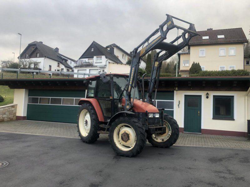 New Holland Fiatagri L75 Allrad Frontlader 40km H Tuv Traktor In 2020 New Holland Holland Traktor