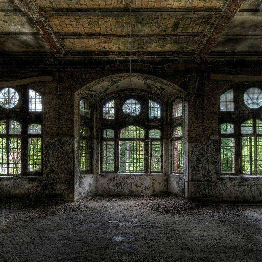 Abandoned Building IPad Wallpaper