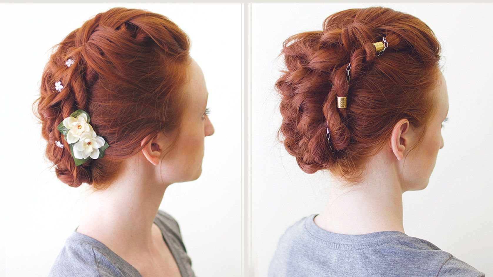 Versatile braid mohawk hairstyle primp style strut beauty