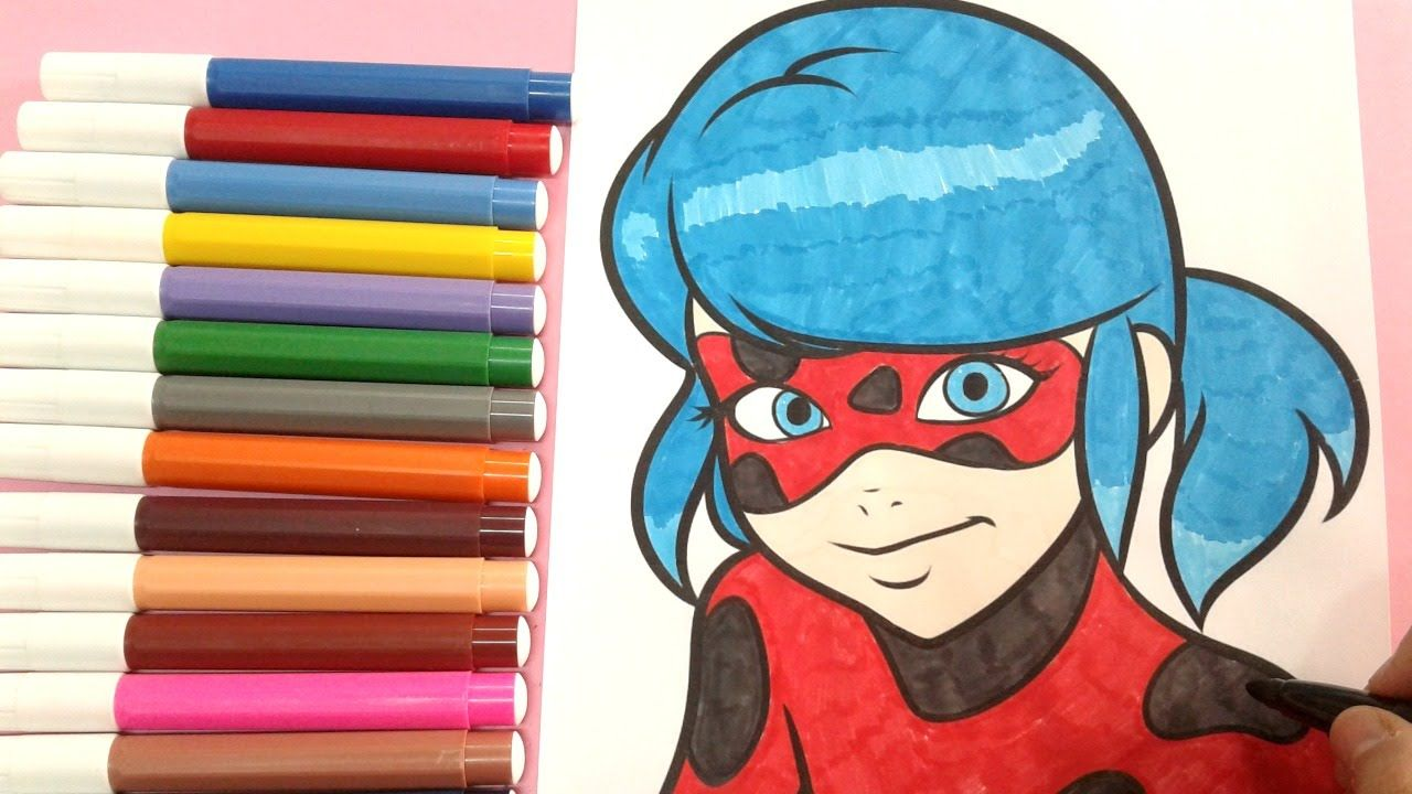 disney colouring pages : How to color miraculous ladybug , coloring ...