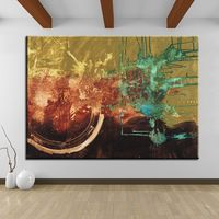 The best selling  Untitled Abstract Art Painting wall art painting for home decor ideas print on canvas oil painting No Framed