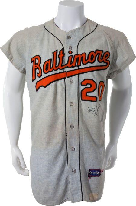 508dbdd295d 1967 Frank Robinson Game Worn Baltimore Orioles Jersey