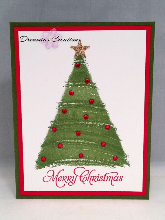 Christmas Card Made With High Quality Stampin Up Products Cards
