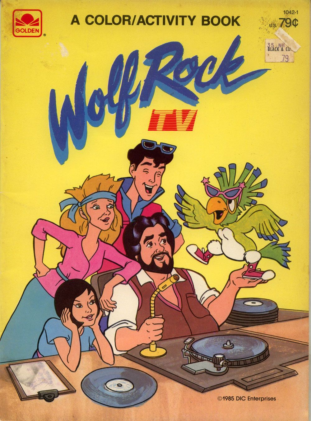 Wolfman Jack starring in his own cartoon! A crazy batch of teenagers ...