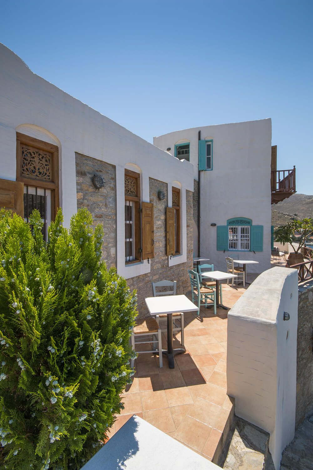 Hotel Emporio Symi Greece Book Through I Escape This Idyllic Greek Islands B Has 6 Rooms And A Lush Waterfront Garden
