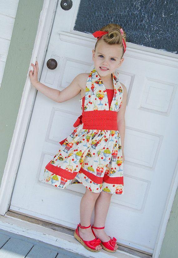 Retro Halter Dresses