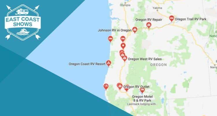 Rv Rental In Oregon Rv Rental Oregon Cruise America