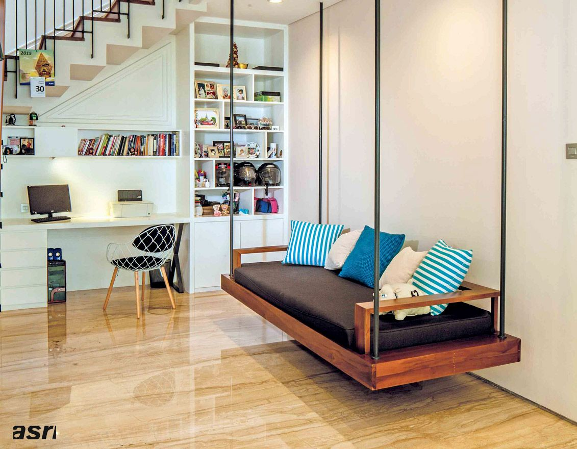 Swing in the workspace home decor pinterest workspaces and