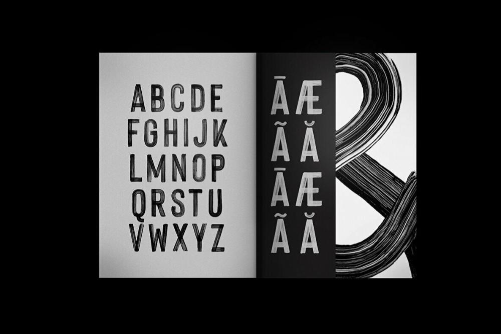 Hackney HandPainted SVG Desktop Font & WebFont