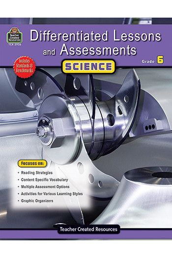 Differentiated Lessons Assessments Book