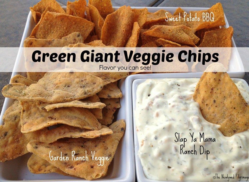 Green Giant Veggie Chips and Slap Ya Mama Ranch Dip - The Newlywed Pilgrimage