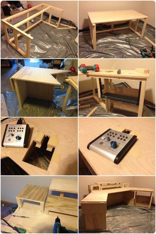 building a controllerist studio part 1 the desk fauteuil gamer. Black Bedroom Furniture Sets. Home Design Ideas