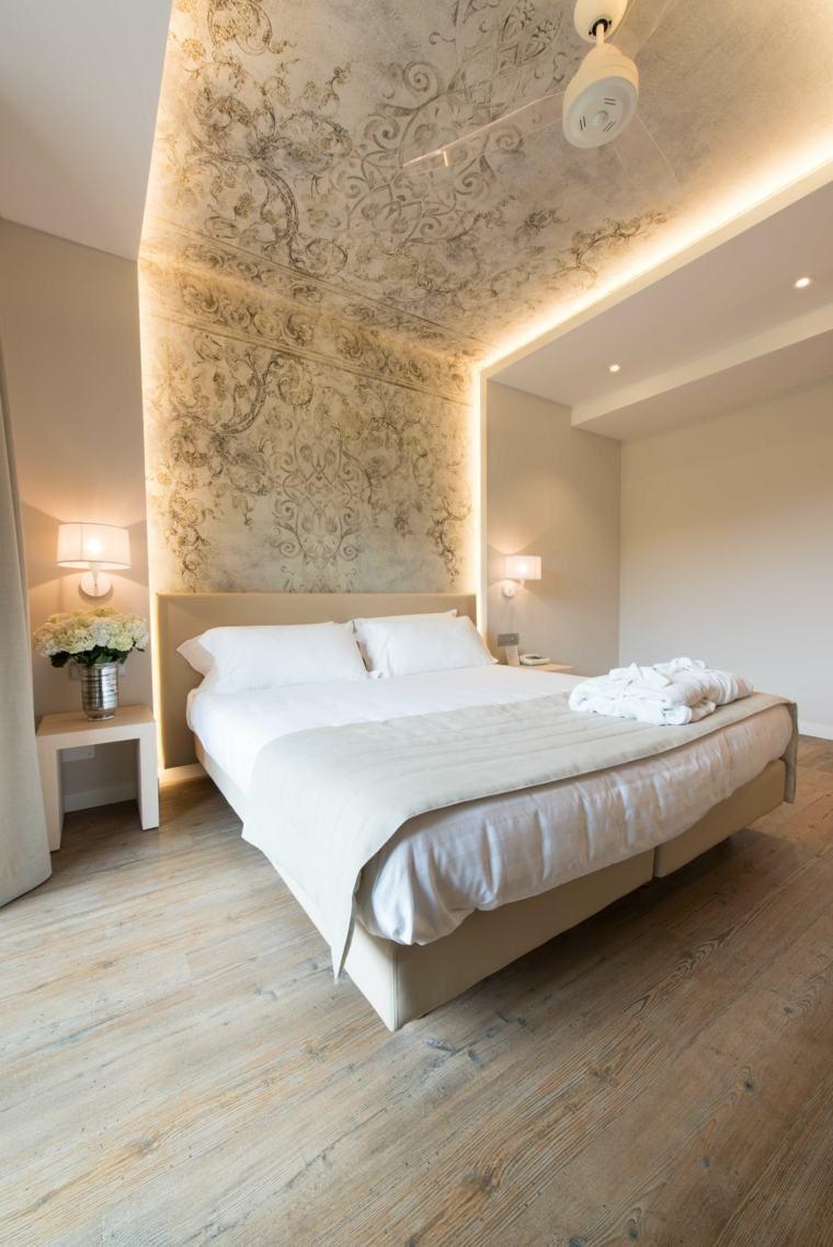 Master bedroom gypsum ceiling  Idée déco chambre adulte   suggestions en blanc  Bedrooms