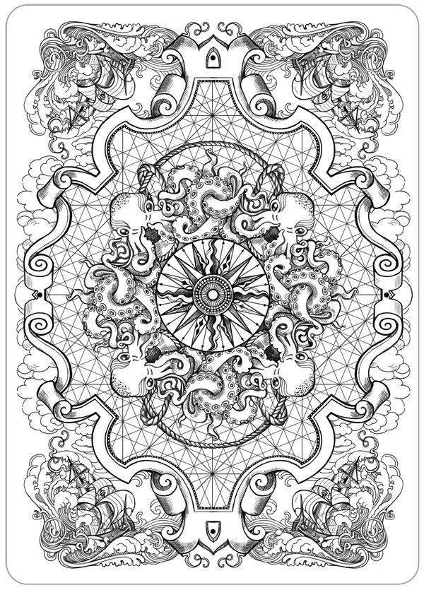 Octopus art   ⚓⚓NAV⚓ OCTOPUS   Pinterest   Dibujo, Mandalas y Pulpos