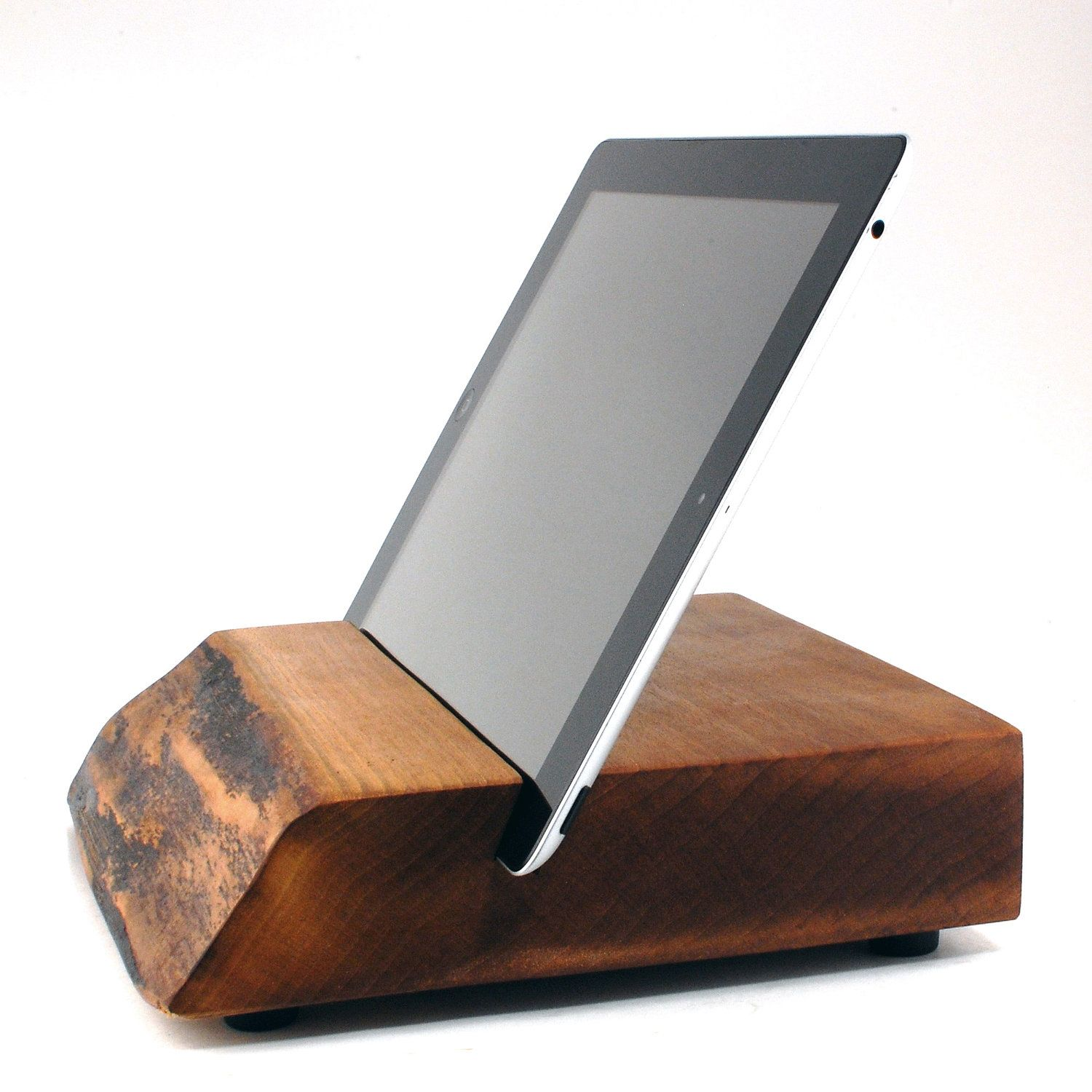 Wood iPad Stand from Block & Sons Co. Article No. 1222