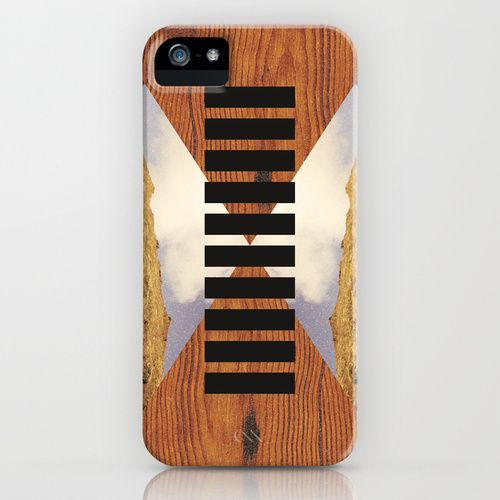 Wood Design iPhone 5 Case by AIKO