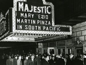 Image result for the opening on broadway of south pacific 1949