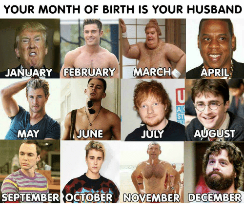 Image result for your birthday month is your husband harry