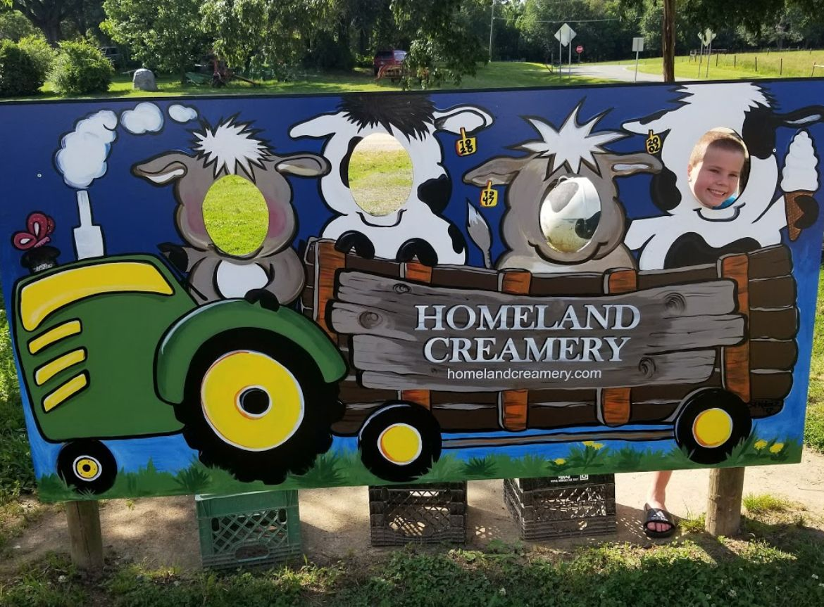 This Ice Creamery And Petting Zoo Is A North Carolina