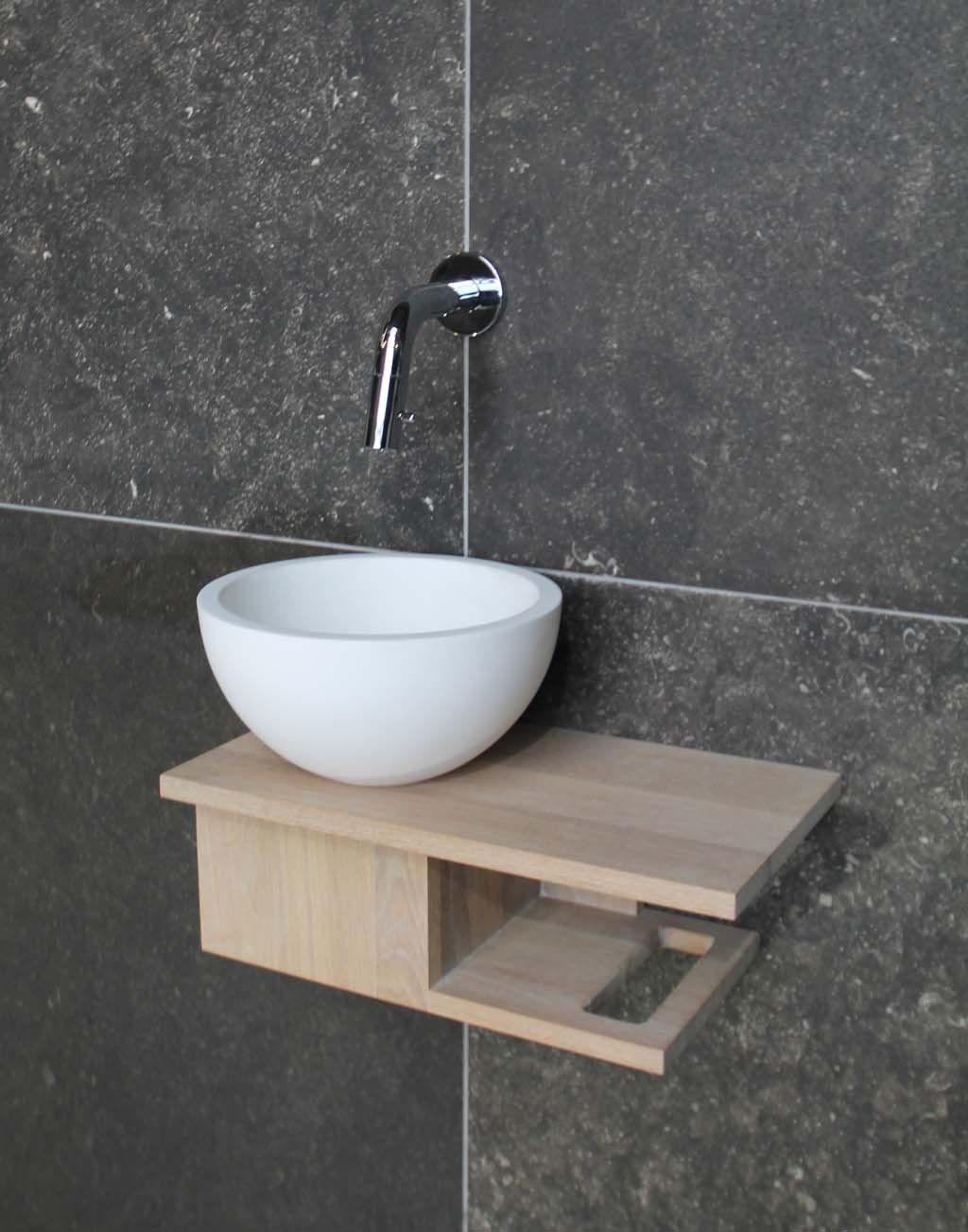Favoriete LucaWood fonteinmeubel | bathroom in 2019 - Badkamer, Toiletruimte YT51