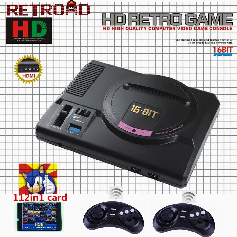 Hot Hdmi Video Game Console Sega Megadrive 1 Genesis