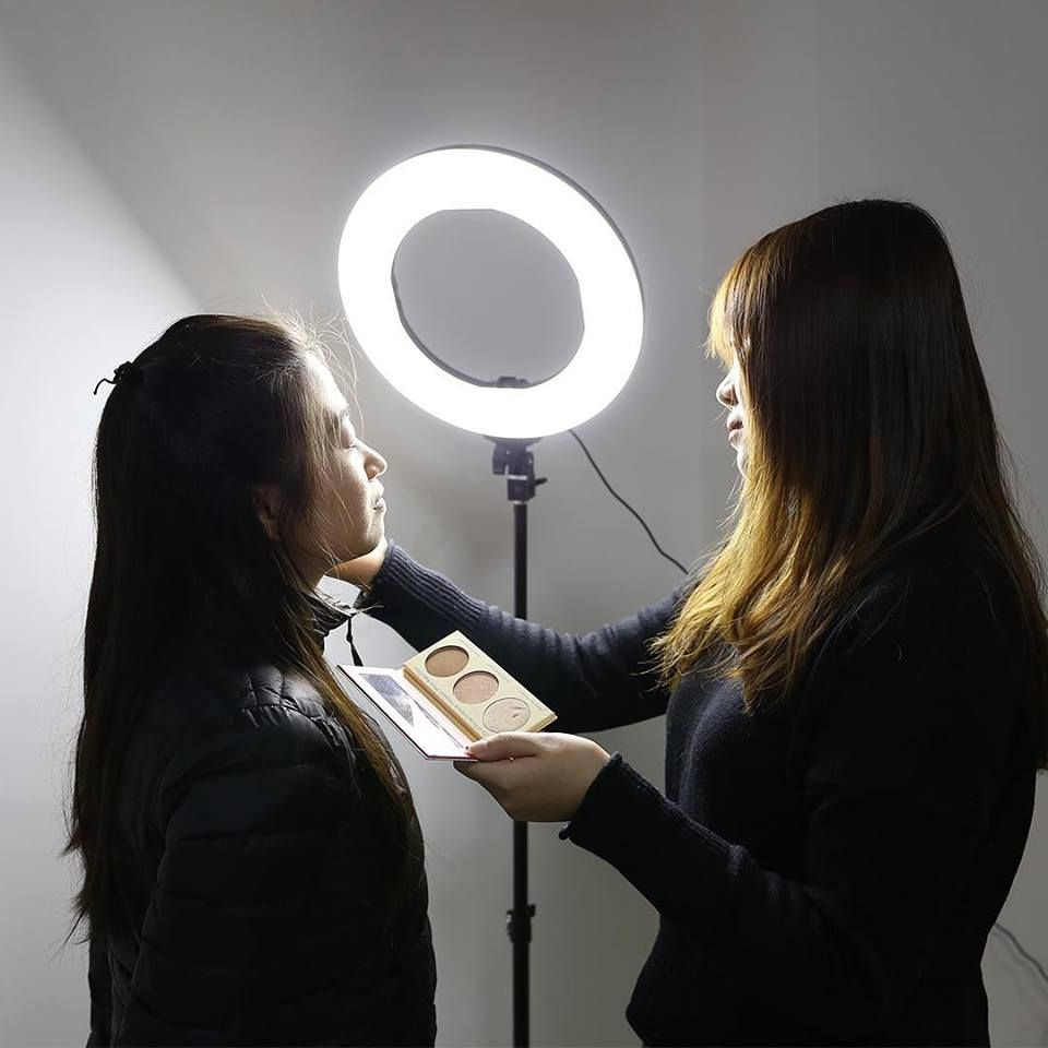 Dressing Up Is Now Fun Presenting Zomei Led Ring Lights Do Makeup Take Selfies Make Videos And Much Ring Light Photography Beauty Ring Light Circle Light
