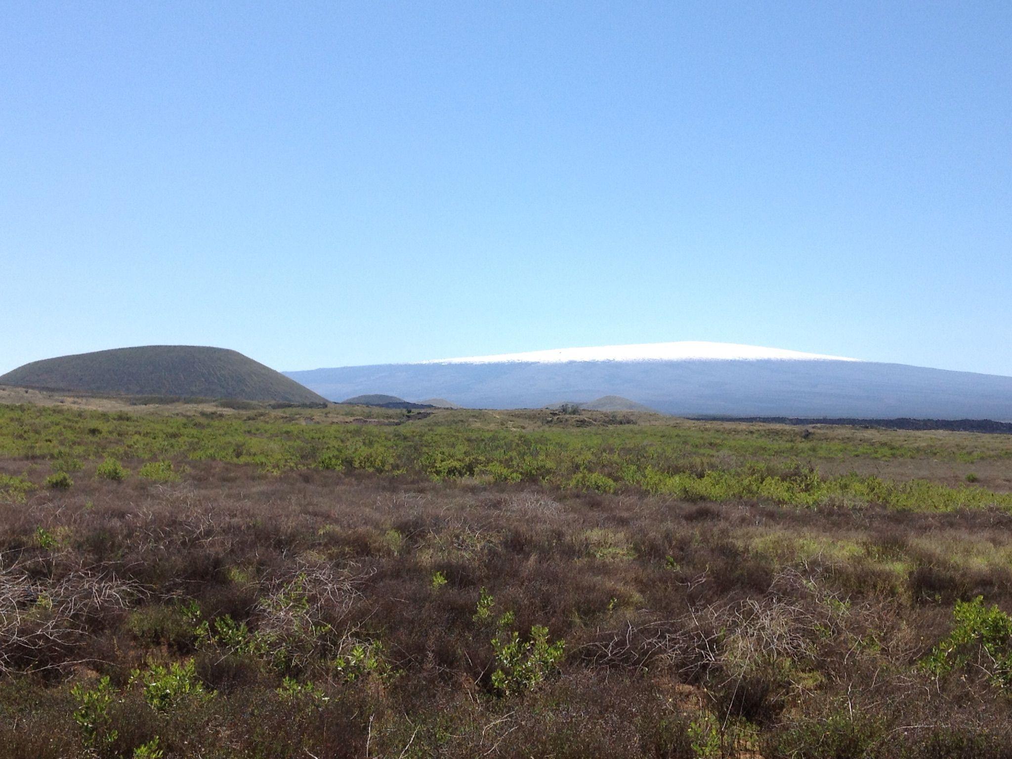 Cinder cones on the big island of hawaii big island