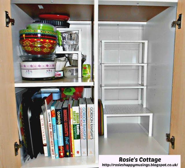 Kitchen Cabinets Inside: Inside Of Ikea FYNDIG Kitchen Cabinet With Variera Shelf