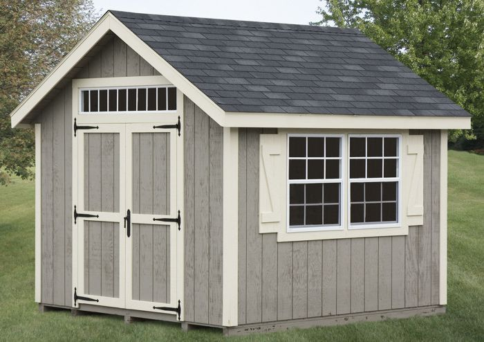 10x10 Gable Style Heritage Garden Shed Capitol Sheds Backyard Sheds Outdoor Sheds 10x10 Shed Plans