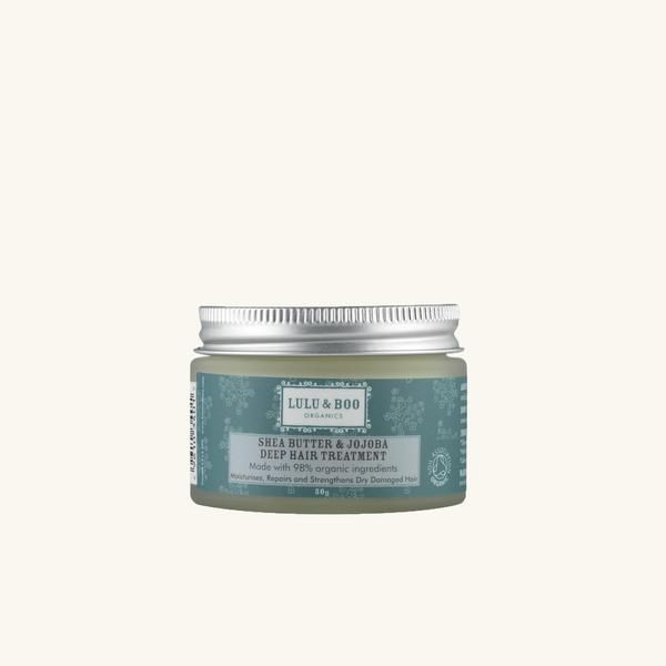 Shea Butter & Jojoba Deep Hair Treatment | Organic #Hair Care - Lulu & Boo Organics #cabello