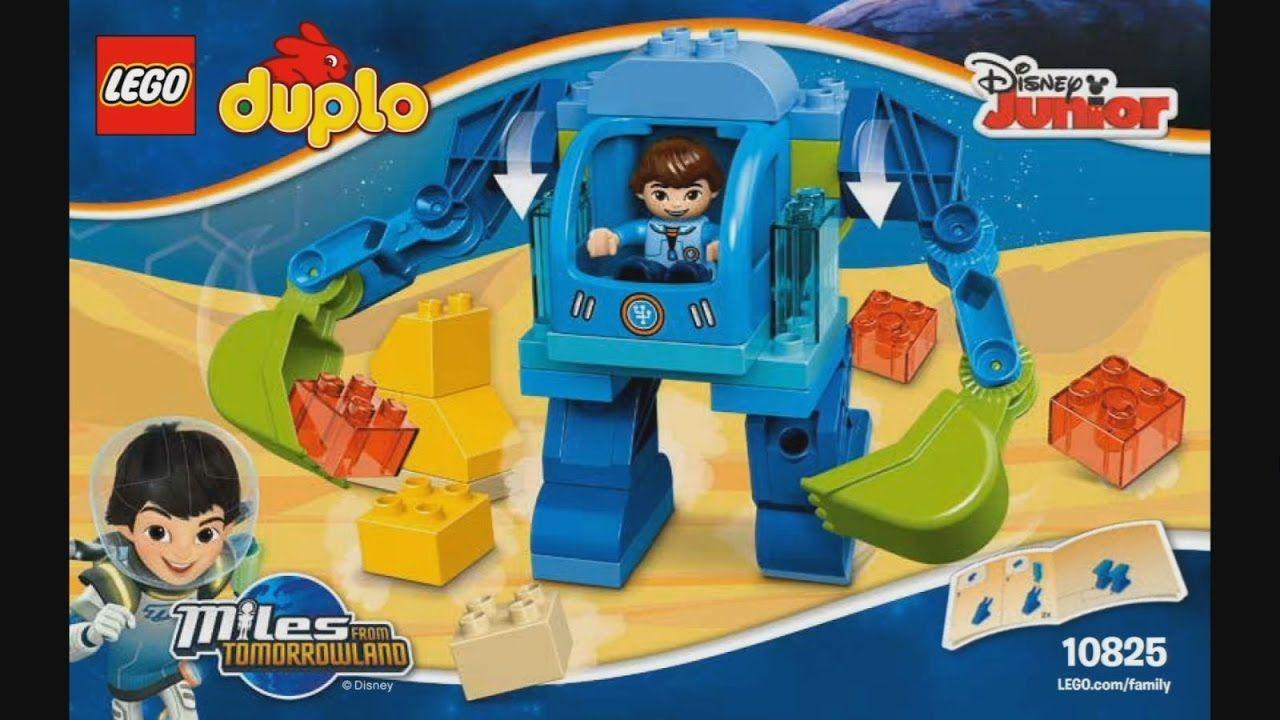 Lego Duplo 10825 Miles Exo Flex Suit Instruction Timelapse Kids